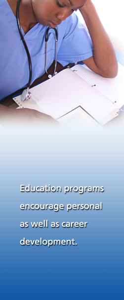 Education programs encourage personal as well as career development