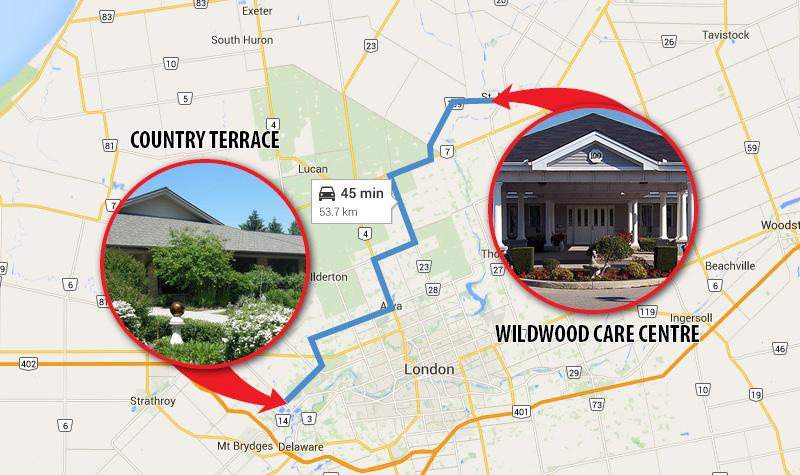 LG-Country Terrace Wildwood Proximity