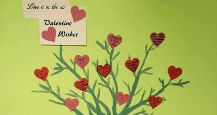 A mural at Woodland Villa is bringing love to everyone.