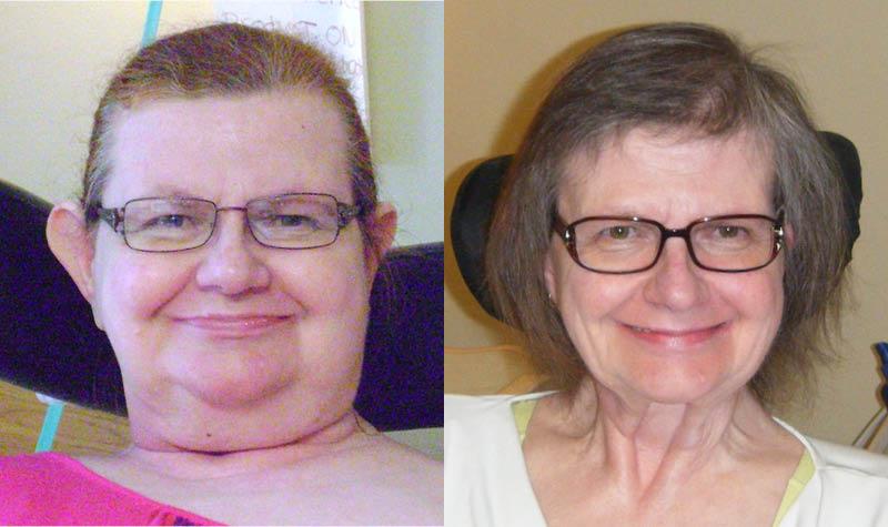 Pam Books before and after her 131-lb weight loss.