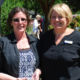 Streamway Villa RN Susan Kellar (left) holds her Inspired Leader Award alongside Kylie Szczebonski, the home's administrator and director of care. Kellar was presented with the award at a June 9 ceremony at the Cobourg long-term care home.