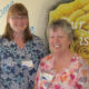 Springdale Country Manor PSW Karin Merpaw (left) has received the home's 2016 Everyday Hero Award. Merpaw is seen here with health-care aide Marg Gregory, who nominated her for the award after the PSW saved her from a choking incident.