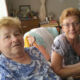 Two Anastasia's: Anastasia (Anna) Chapman sitting with Almonte Country Haven resident Anastasia Coulas.
